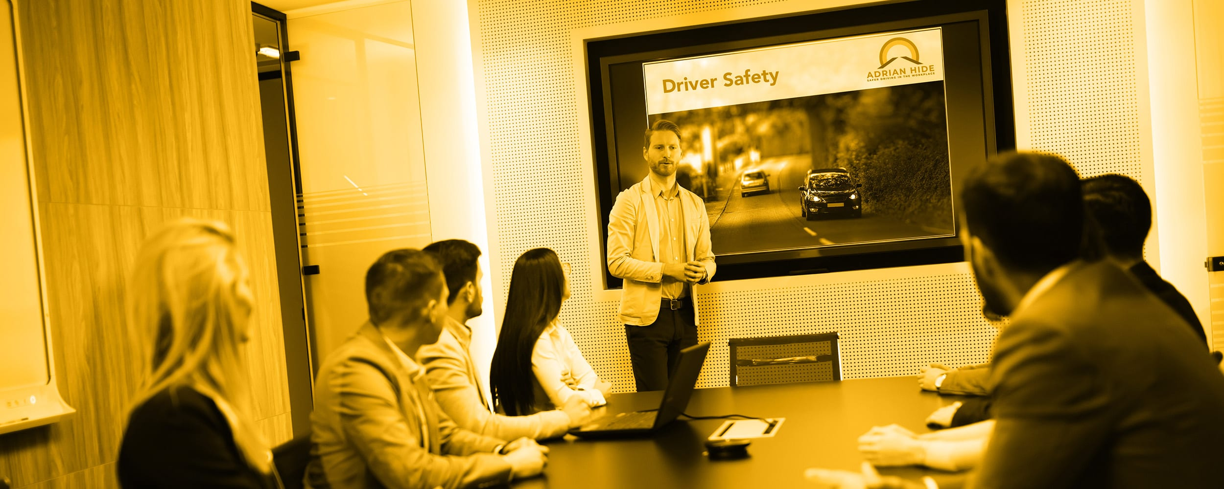 Driver Safety Workshops with Adrian Hide Consultancy - safer driving in the workplace